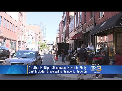 Crews In Philly To Film New M. Night Shyamalan Movie 'Glass'