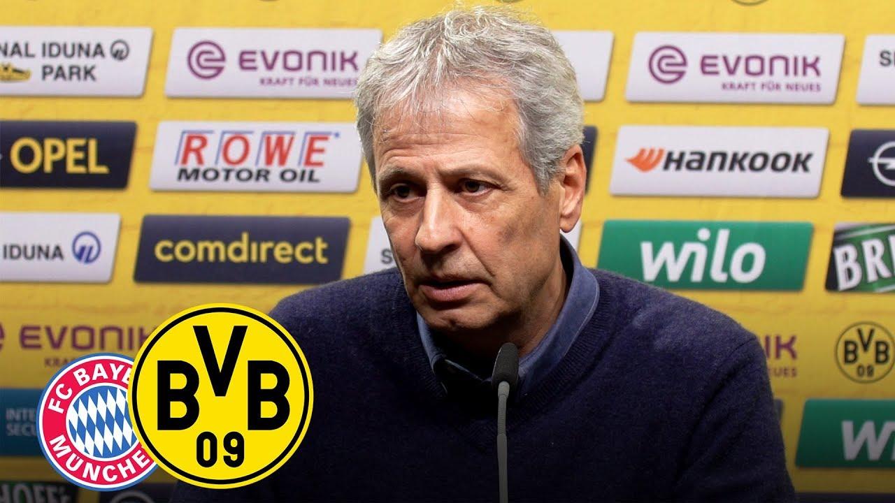 Pressekonferenz mit Lucien Favre & Michael Zorc | FC Bayern München - BVB
