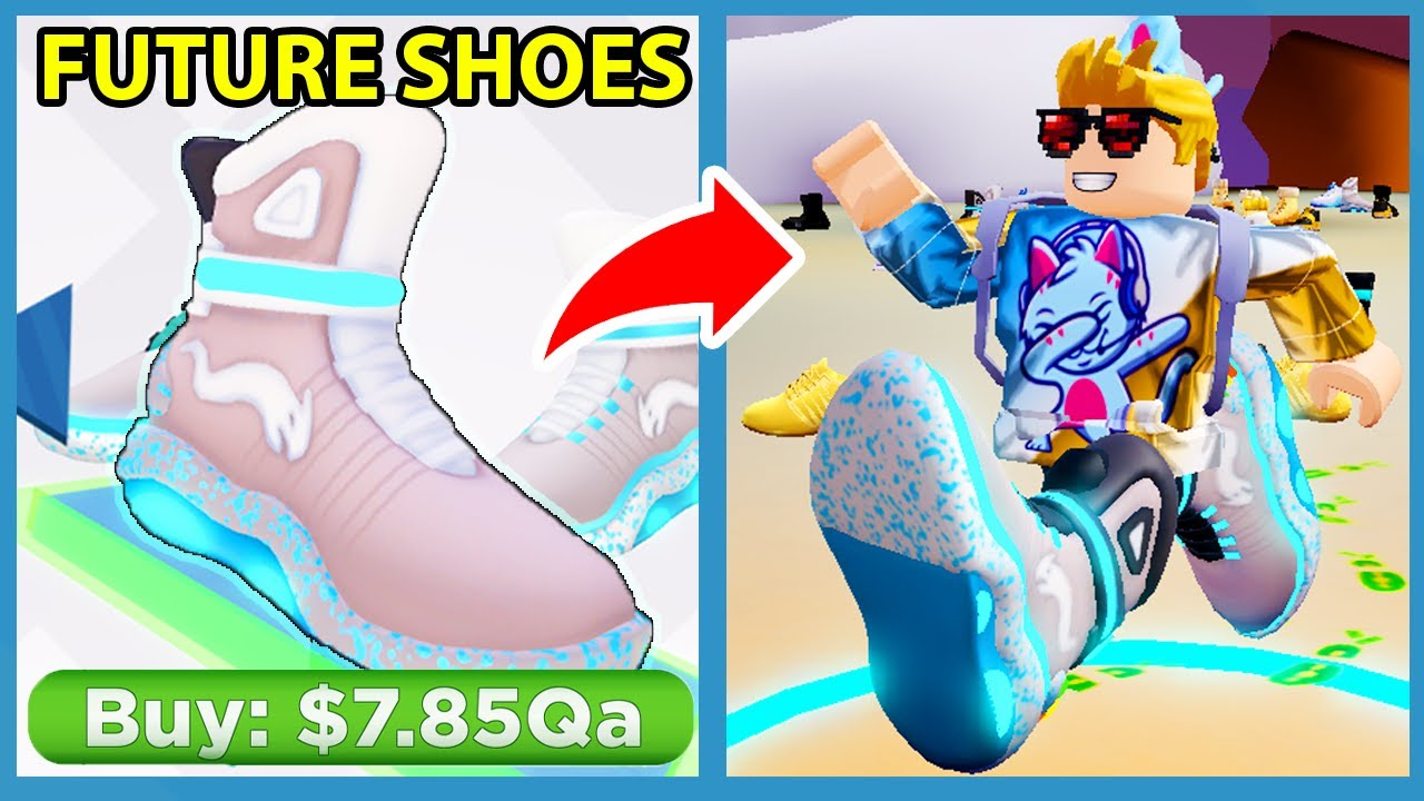 Buying The Most Expensive Shoes In Roblox Shoe Simulator