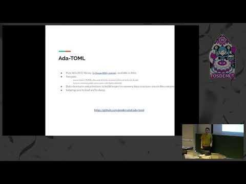 Ada-TOML: a TOML Parser for Ada
