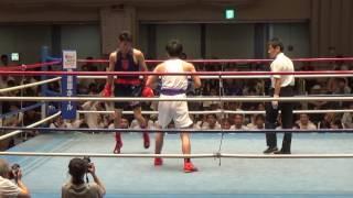 H29 7/8 B2級 東洋 渡来美響 対 駒大 阿部宏斗
