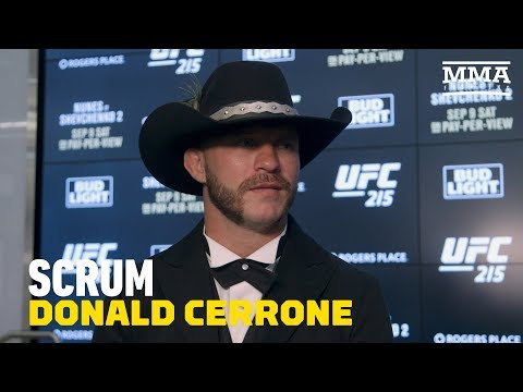 Donald Cerrone To Teammate Ray Borg: 'You Should Have Fought' - MMA Fighting