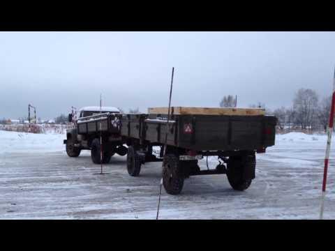 видео: Профессиональная парковка прицепа