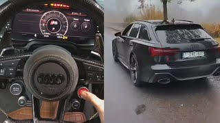 Best of Audi RS Acceleration Sound and Burnouts
