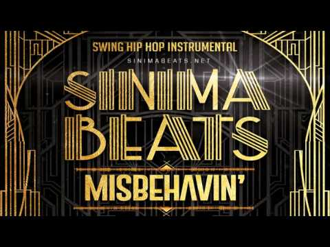 Misbehavin' Instrumental (Swing Hip Hop, Big Band Rap Beat 95 bpm) Sinima Beats
