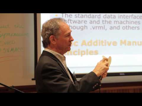 Jerry Franklin - Additive Manufacturing--a Paradigm Shift