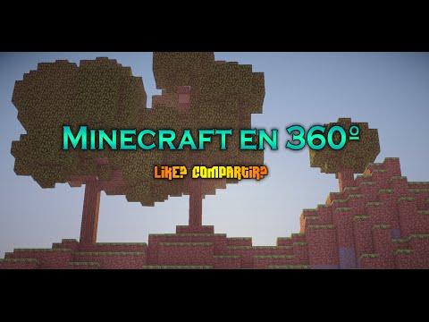 """Minecraft en 360º """"Shader + Calidad"""" [2K60FPS]"""