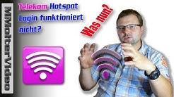 Telekom Hotspot Login funktioniert nicht? 2014