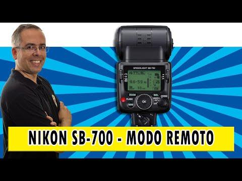 Speedlight SB 700 Nikon - Configuração do modo remoto