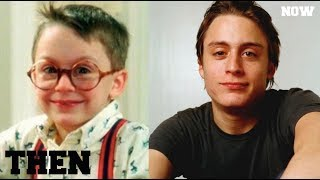 THEN AND NOW - Home Alone Cast 2019