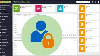 How to set default password in Smart School Management Software