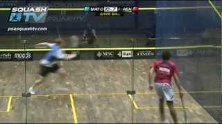 Squash MegaRallies : Nick Matthew v Ramy Ashour :EP2