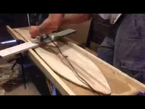 Diy snowboard tapering