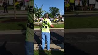 Part 1 of Sharing God's Word at America First rally with Mike Pence  7/21/2018