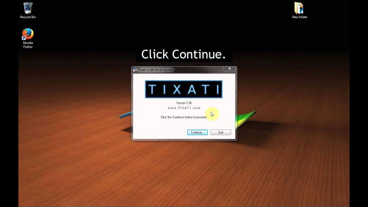 Tixati. Com finding content.
