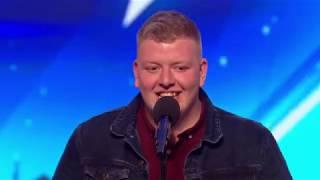 Gruffydd~~~GOLDEN BUZZER! Nút Vàng ~~~Britain's Got Talent 2018