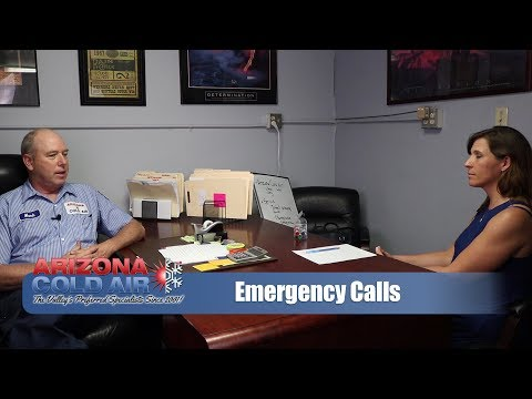 Phoenix AC Emergency Calls | Arizona Cold Air