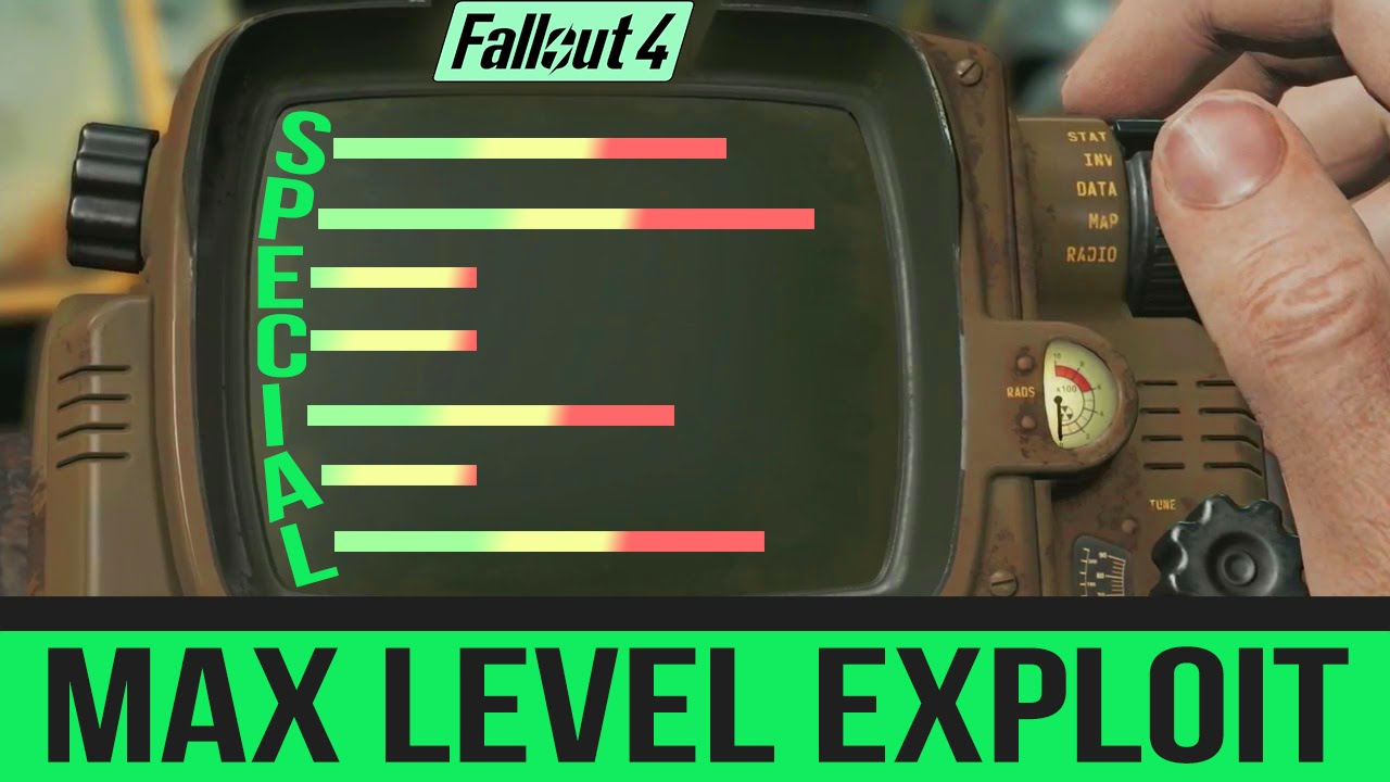 <b>Fallout 4</b> Secret <b>Cheat Codes</b> - MAX LEVEL Your Character&#39;s Special ...