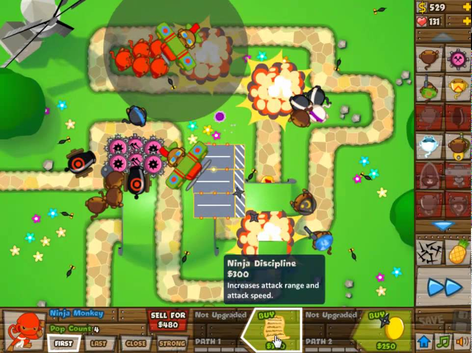 Bloons tower defencewatermelon gaming games