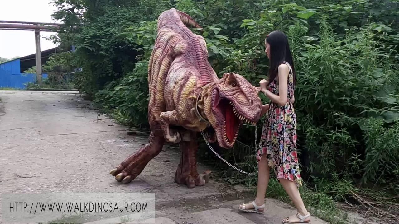 dinosaurier kost m f r erwachsene echte dinosaurier dinosaurier anzug youtube. Black Bedroom Furniture Sets. Home Design Ideas