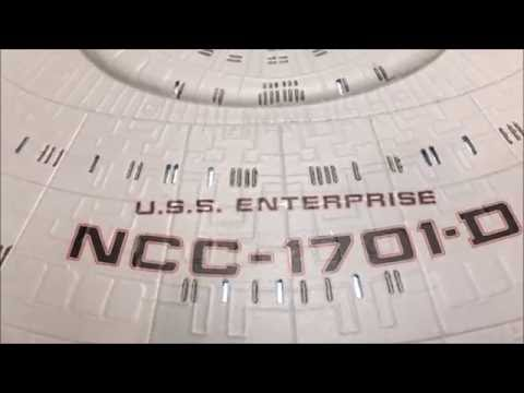 Enterprise D Lighted Model