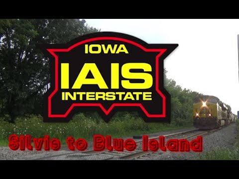 Iowa Interstate Railroad Documentary - Silvis to Blue Island