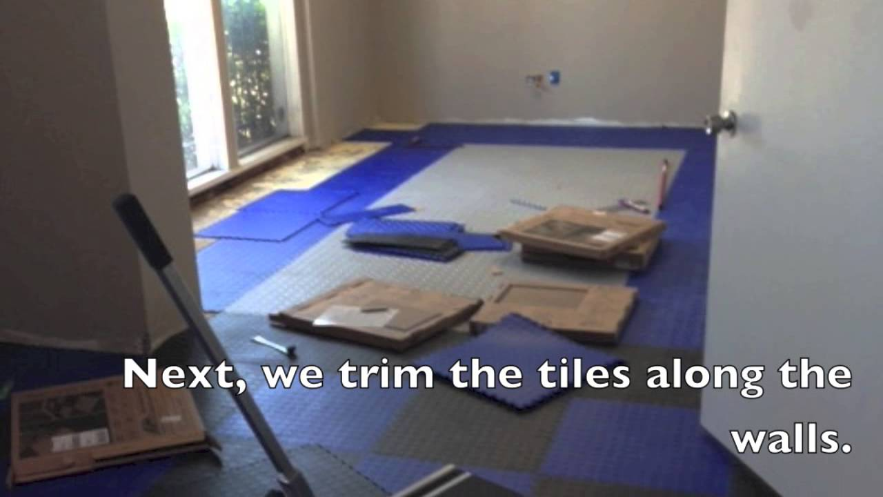 Perfection floor tile install youtube dailygadgetfo Images