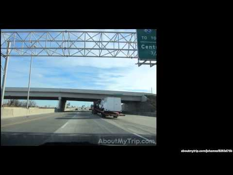 Tri-State Tollway (Chicago Ridge, IL) to Palos Heights, IL via Worth