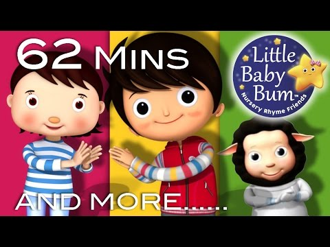 Clap Your Hands | Plus Lots More Nursery Rhymes | From LittleBabyBum!