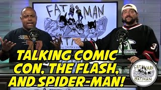 TALKING COMIC CON, THE FLASH, AND SPIDER-MAN!