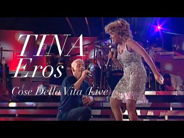 Смотреть видео Tina Turner & Eros Ramazzotti - Cose Della Vita Live - Munich 1998 (HD 720p)