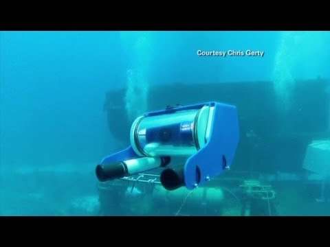 Control an underwater 'drone' with your laptop