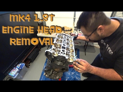 How to remove a 1.8T Engine Head DIY S4 EP4