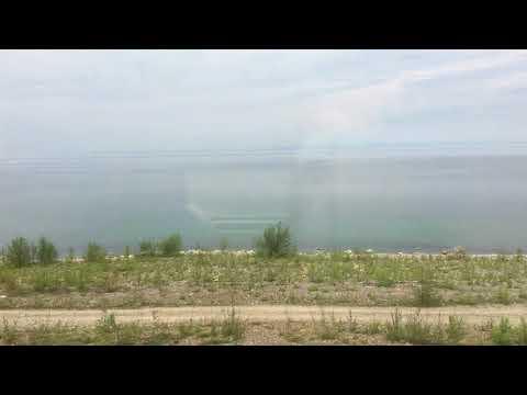 Озеро Байкал поезд Байкальск Улан-удэ Новосибирск-Владивосток