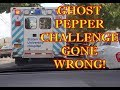 GHOST PEPPER CHALLENGE CRAZY!!!  (911🚑CALLED)