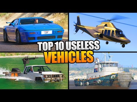 TOP 10 USELESS & WASTE OF MONEY CARS IN GTA 5 ONLINE! (GTA V)