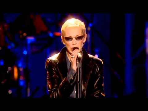 "Eurythmics ""Here Comes The Rain Again"" live 46664 THE EVENT"