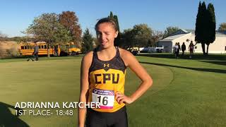 Interviews: District XC at Manchester
