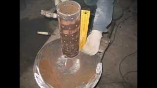 видео Муфельная печь своими руками - чертеж и инструкция по сборке