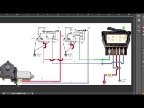 Cara memasang relay power window - YouTubeYouTube