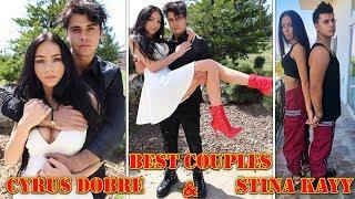 Cyrus Dobre And Christina Kay   Best Moments   Boyfriends Vs Girlfriend