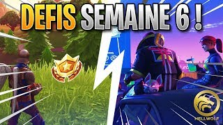 FORTNITE - COMPLETER WHAT ALL THE DEFIS OF THE WEEK 6 - FREE PALIER!!