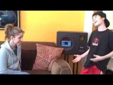 Justin Flirting With Esmée Denters - Justin Singing
