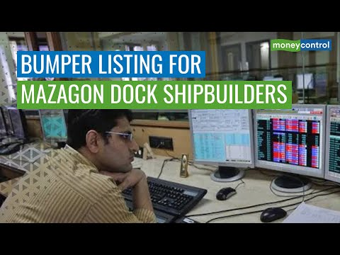Mazagon Dock Shipbuilders Debuts On D-Street, Starts With Whopping 49% Premium