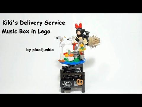 LEGO® Kiki's Delivery Service Music Box