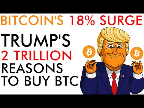 Bitcoin's Wild 18% SURGE! Trump Gives 2 Trillion More Reasons To Buy Crypto In 2020
