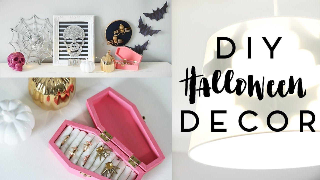 Halloween Decor DIYs