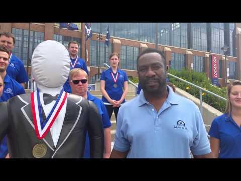 Eric Martin takes the ALS Ice Bucket Challenge