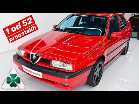 UBICA NEMACA! Alfa 155 Q4 samo 110 na svetu!