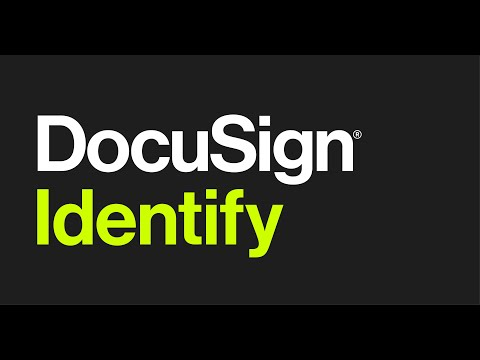 DocuSign Identify